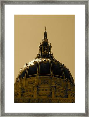 Framed Print featuring the photograph Cupula by Fanny Diaz