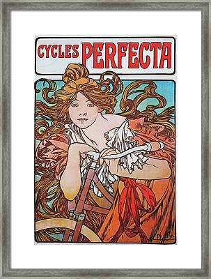 Cycles Perfecta Framed Print