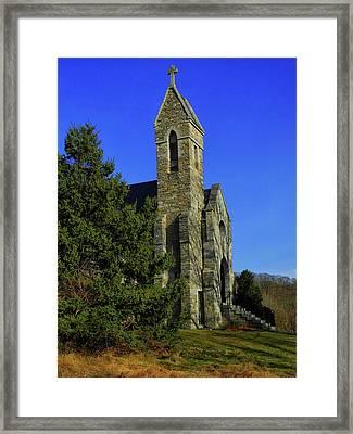 Dahlgren Chapel Framed Print by Raymond Salani III