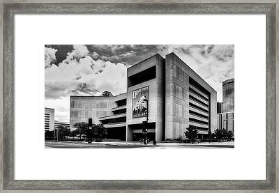 Dallas Central Library Framed Print by L O C