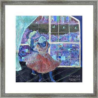 Dansarinas Framed Print by Reina Resto