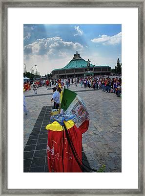 Danza Basilica De Guadalupe - Mexico Framed Print