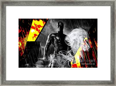 Daredevil Collection Framed Print