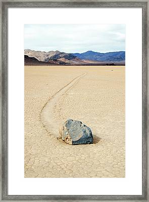 Death Valley Racetrack Framed Print