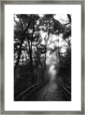 Framed Print featuring the photograph Dejavu by Hayato Matsumoto
