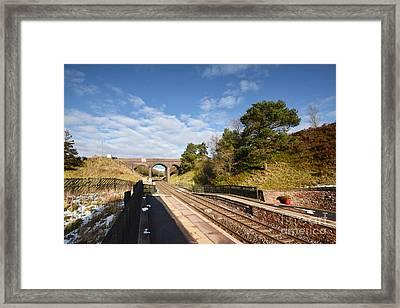 Dent Railway Station Framed Print by Nichola Denny