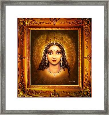 Devi Darshan Framed Print