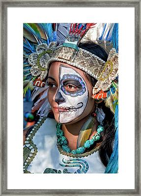 Dia De Los Muertos - Day Of The Dead 10 15 11 Procession Framed Print by Robert Ullmann