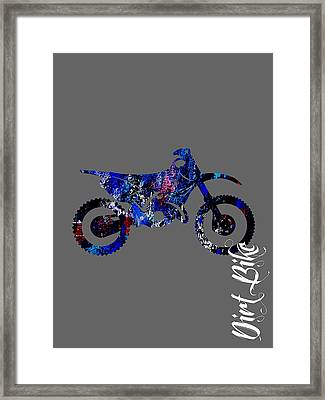 Dirt Bike Collection Framed Print