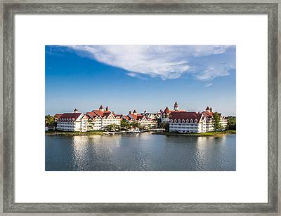 Disney's Grand Floridian Resort And Spa Framed Print