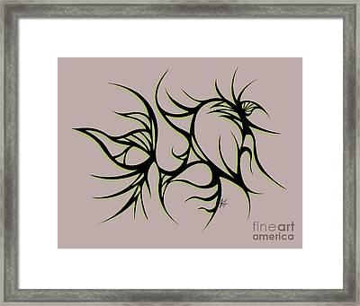Divine Havoc Framed Print