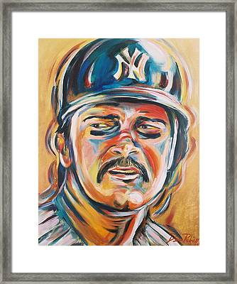 Don Mattingly Framed Print