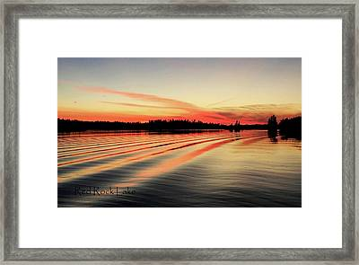 Doug Hobson, Red Rock Lake Framed Print