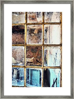 Blue Window Panes  Framed Print by JAMART Photography