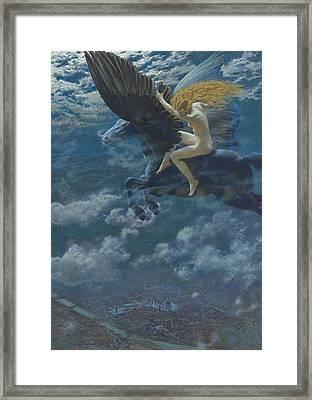 Dream Idyll  Framed Print by Edward Robert Hughes