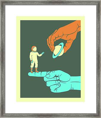Dreamer Framed Print by Jazzberry Blue