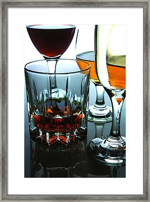 Drinks Framed Print