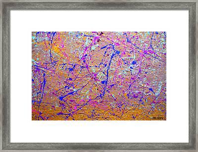 Dripx 5 Framed Print