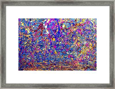 Dripx 6 Framed Print