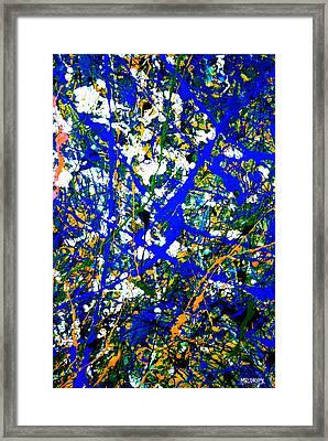 Dripx 8 Framed Print