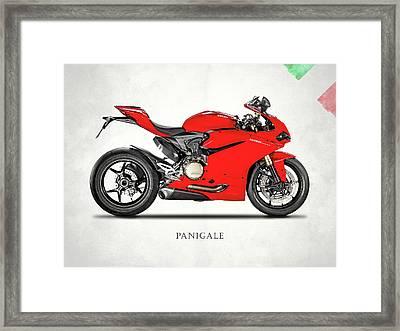 Ducati Panigale 1299 Framed Print by Mark Rogan