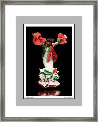 Duende Flamenco Framed Print
