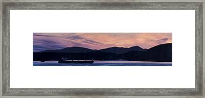 Early Morning On The West Coast Framed Print