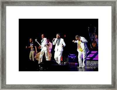 Earth Wind And Fire Framed Print by April Sims
