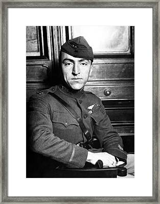 Eddie Rickenbacker Framed Print by War Is Hell Store