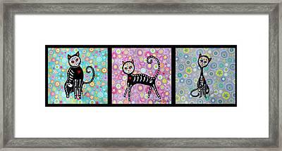 El Gato Framed Print