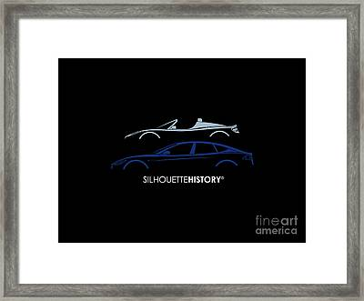 Electric Silhouettehistory Framed Print