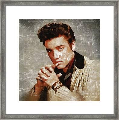 Elvis Presley Y Mb Framed Print