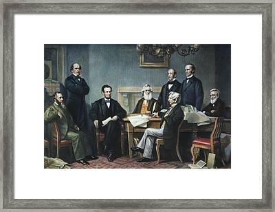 Emancipation Proclamation Framed Print by Granger