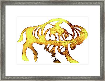 End Of The Trail Framed Print by Larry Campbell