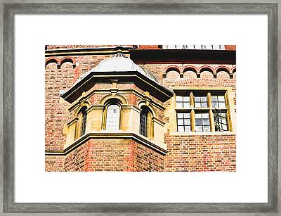English Architecture Framed Print