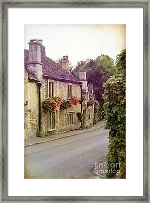 Framed Print featuring the photograph English Village by Jill Battaglia