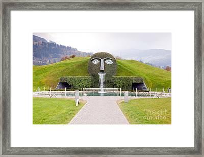 Entrance Of Swarovski Museum In Innsbruck Framed Print by Andre Goncalves