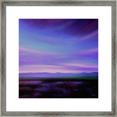 Evening Colours Framed Print
