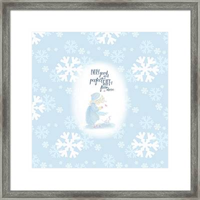 Every Good And Perfect Gift Framed Print by Precious Moments