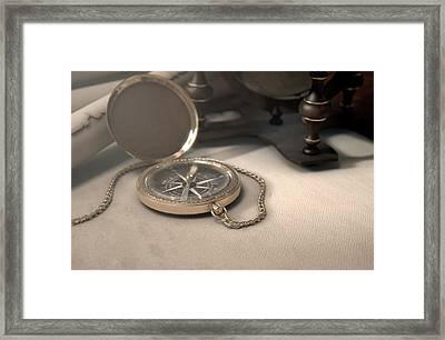 Exploration Table Framed Print