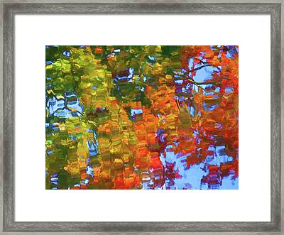 Perfect Lake Framed Print by Lanjee Chee