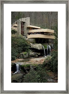 Fallingwater Framed Print