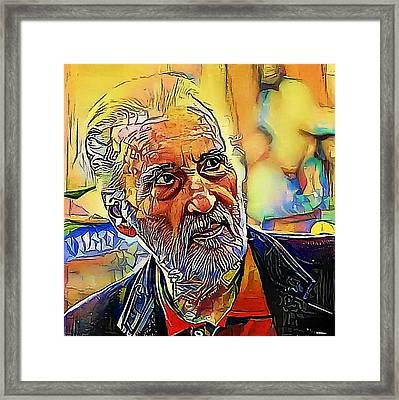 familiar faces - My WWW vikinek-art.com Framed Print by Viktor Lebeda