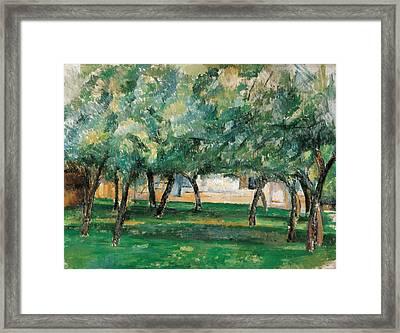 Farm In Normandy  Framed Print