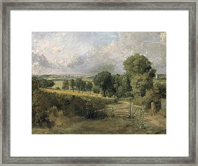 Fen Lane Framed Print