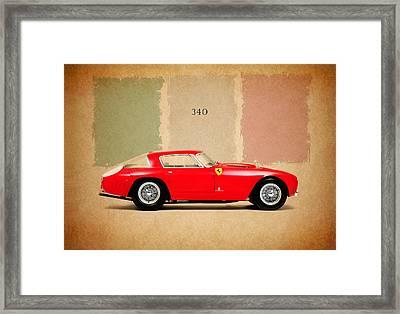 Ferrari 340 Framed Print by Mark Rogan