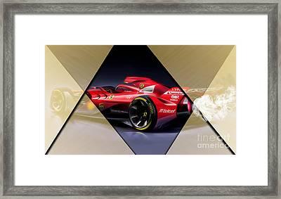 Ferrari F1 Collection Framed Print