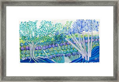 Field Of Dreams  Framed Print by Ione Citrin