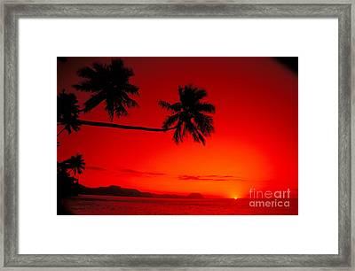 Fiji, Kadavu Island Framed Print