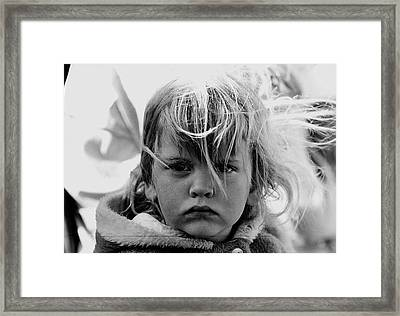 Film Noir Jean Simmons Robert Mitchum Rko Angel Face 1953 Demolition Derby Tucson Arizona 1969 Framed Print by David Lee Guss